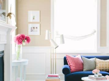 décoration glamour 8 356x267 - Magnifique décoration glamour pour cette maison californienne