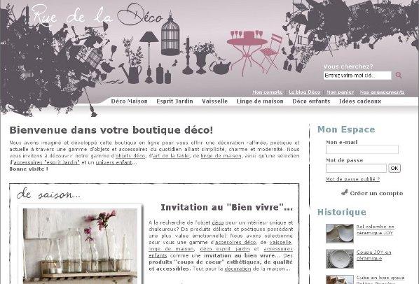 Boutiques déco généralistes - Rue de la Déco