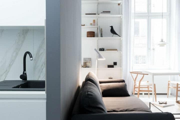 d corer un petit appartement 3 astuces d co essayer. Black Bedroom Furniture Sets. Home Design Ideas