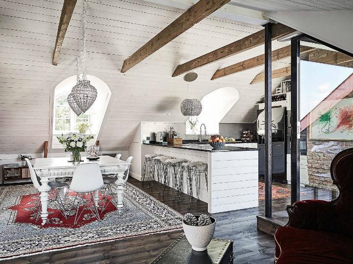 D coration scandinave classique pour une ferme du 19e si cle for Decoration scandinave