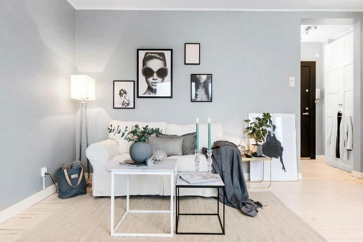D corez un petit appartement scandinave gr ce quelques astuces - Palette de couleur scandinave ...