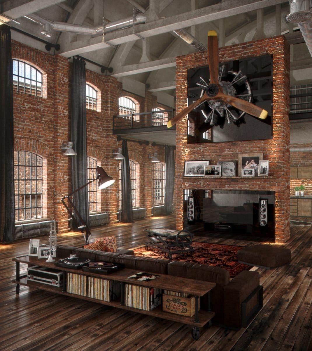 Salon la d coration industrielle mon guide ultime for Deco salon style industriel