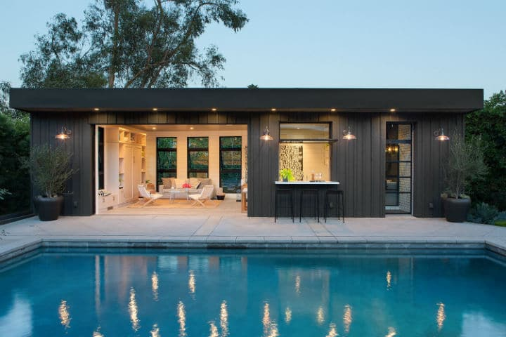 helena pool house une maison d di e la relaxation. Black Bedroom Furniture Sets. Home Design Ideas