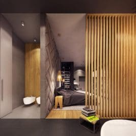 décoration géométrique 19 267x267 - Une décoration géométrique ultra moderne pour cette maison d'exception