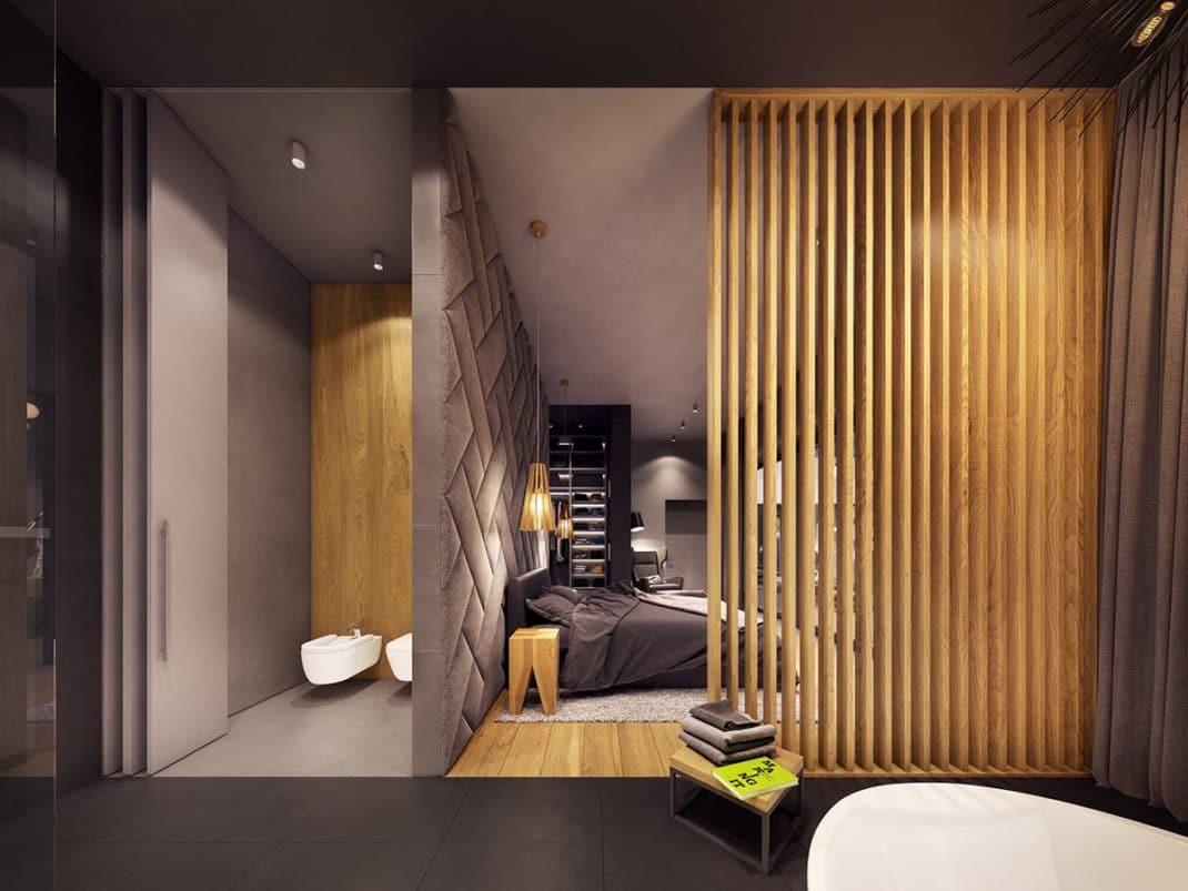 Décoration Géométrique 19 267x267   Une Décoration Géométrique Ultra Moderne  Pour Cette Maison ...