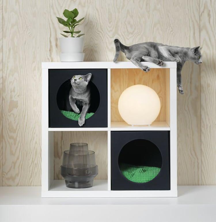 Lurvig ikea d voile sa collection de meubles pour animaux for Meuble pour collection