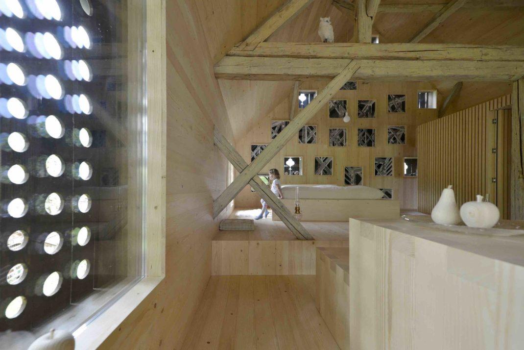 Définition des espaces et réutilisation des matériaux