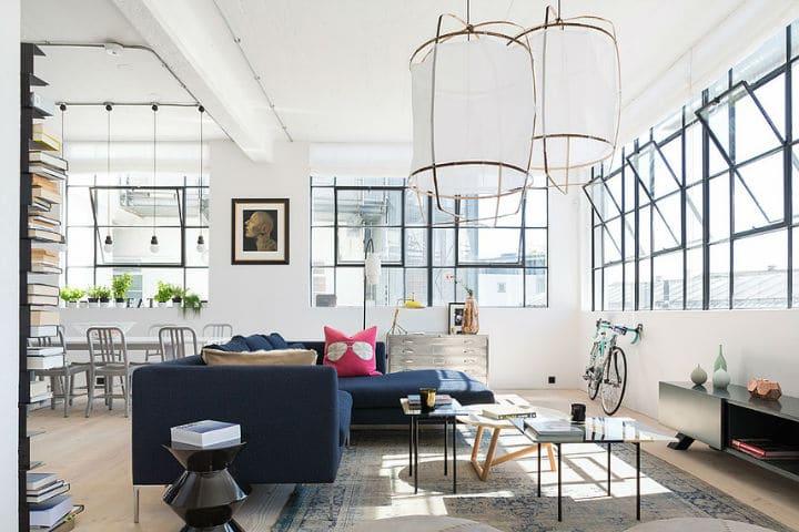 R nover un ancien espace industriel pour en faire un loft - Renover un meuble industriel ...