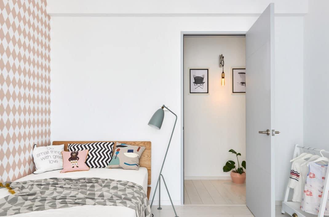 cet appartement de style scandinave va vous faire craquer. Black Bedroom Furniture Sets. Home Design Ideas