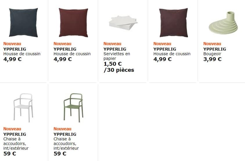 collection Ypperlig – Ca y est la IKEA x Hay
