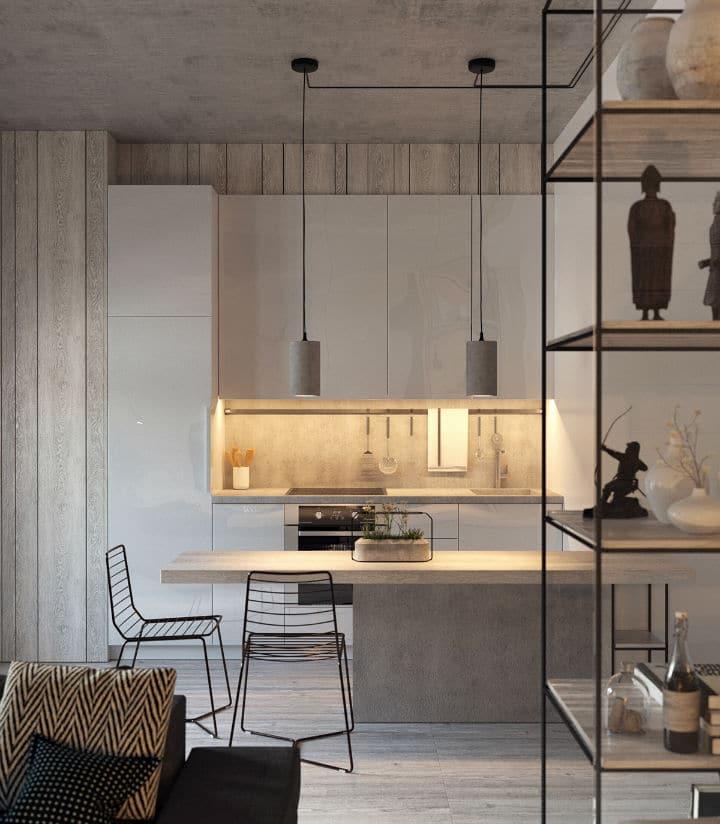Des lignes épurées et élégantes pour un intérieur contemporain