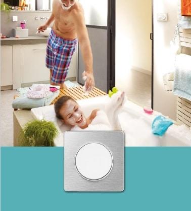 Odace Touch - De la matière et de la minéralité pour vos interrupteurs Schneider Electric