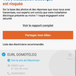 Application Hager Check test installation électrique