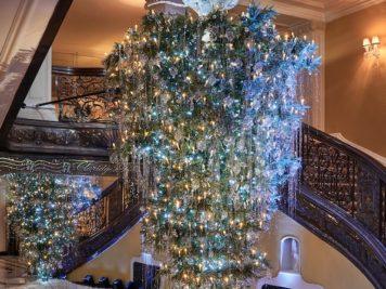 sapins de Noël à l'envers tendance de Noël 2018
