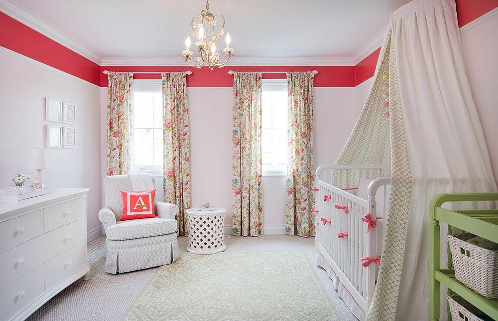 d corer une nurserie avec un petit style shabby chic. Black Bedroom Furniture Sets. Home Design Ideas