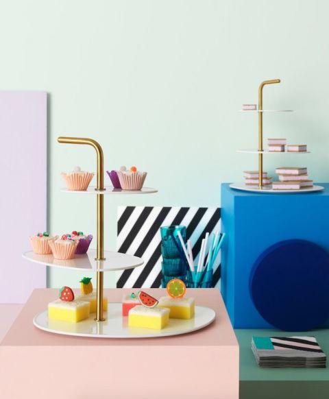 nouvelle collection IKEA présentoir à gâteau FÖRÄDLA