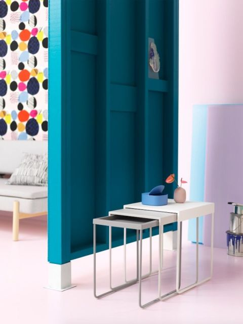 la nouvelle collection ikea sera ax e sur la modernit et les tons pastels. Black Bedroom Furniture Sets. Home Design Ideas