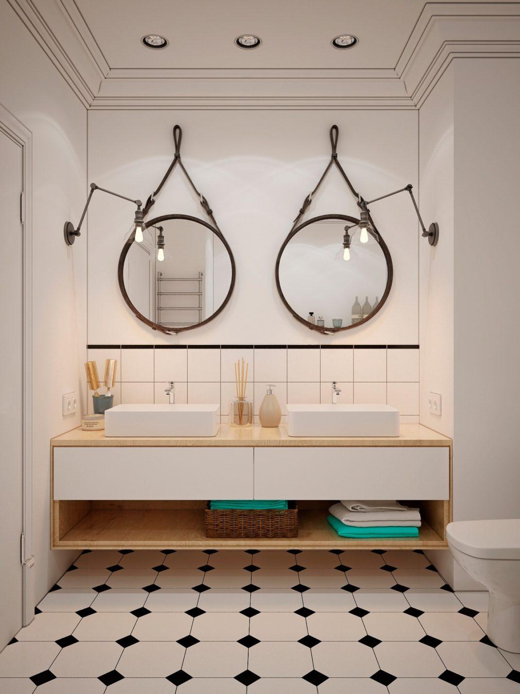 40 idées de salles de bain à double vasques
