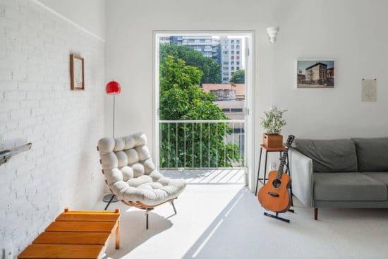 Relooking efficace et lumineux dun petit appartement à Sao Paulo 11 550x367 - Relooking efficace et lumineux d'un petit appartement à Sao Paulo 11