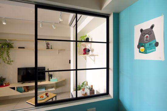 A Lentil Design rénove un petit appartement de moins de 50 mètres carrés 13 550x367 - A Lentil Design rénove un petit appartement de moins de 50 mètres carrés 13