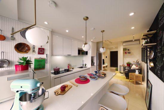 A Lentil Design rénove un petit appartement de moins de 50 mètres carrés 7 550x367 - A Lentil Design rénove un petit appartement de moins de 50 mètres carrés 7