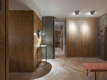 Olha Wood dévoile un appartement mixant le béton et le rose 6 356x267 - Olha Wood dévoile un appartement mixant le béton et le rose