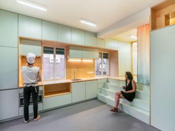 Ce micro appartement Madrilène est rempli de surprises cachées 2 356x267 - Ce micro appartement Madrilène est rempli de surprises cachées