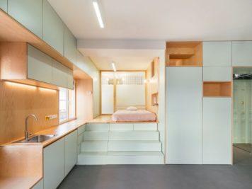 Ce micro appartement Madrilène est rempli de surprises cachées 356x267 - Ce micro appartement Madrilène est rempli de surprises cachées