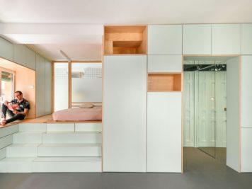 Ce micro appartement Madrilène est rempli de surprises cachées 4 356x267 - Ce micro appartement Madrilène est rempli de surprises cachées