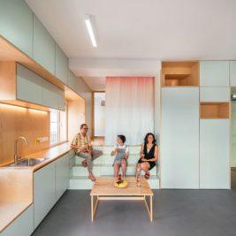 Ce micro appartement Madrilène est rempli de surprises cachées