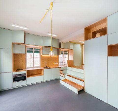 Ce micro appartement Madrilène est rempli de surprises cachées 6 480x450 - Ce micro appartement Madrilène est rempli de surprises cachées 6