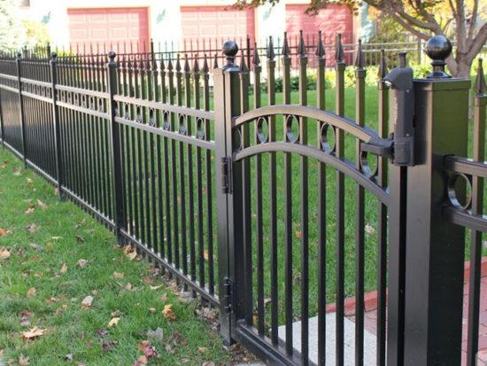 Choisir une clôture en fer forgé