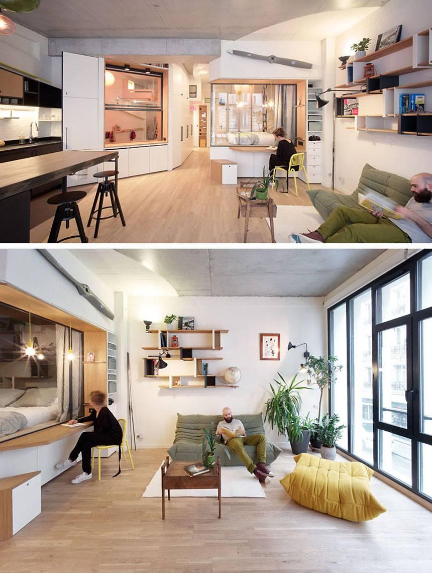 comment transformer un garage en un magnifique loft. Black Bedroom Furniture Sets. Home Design Ideas