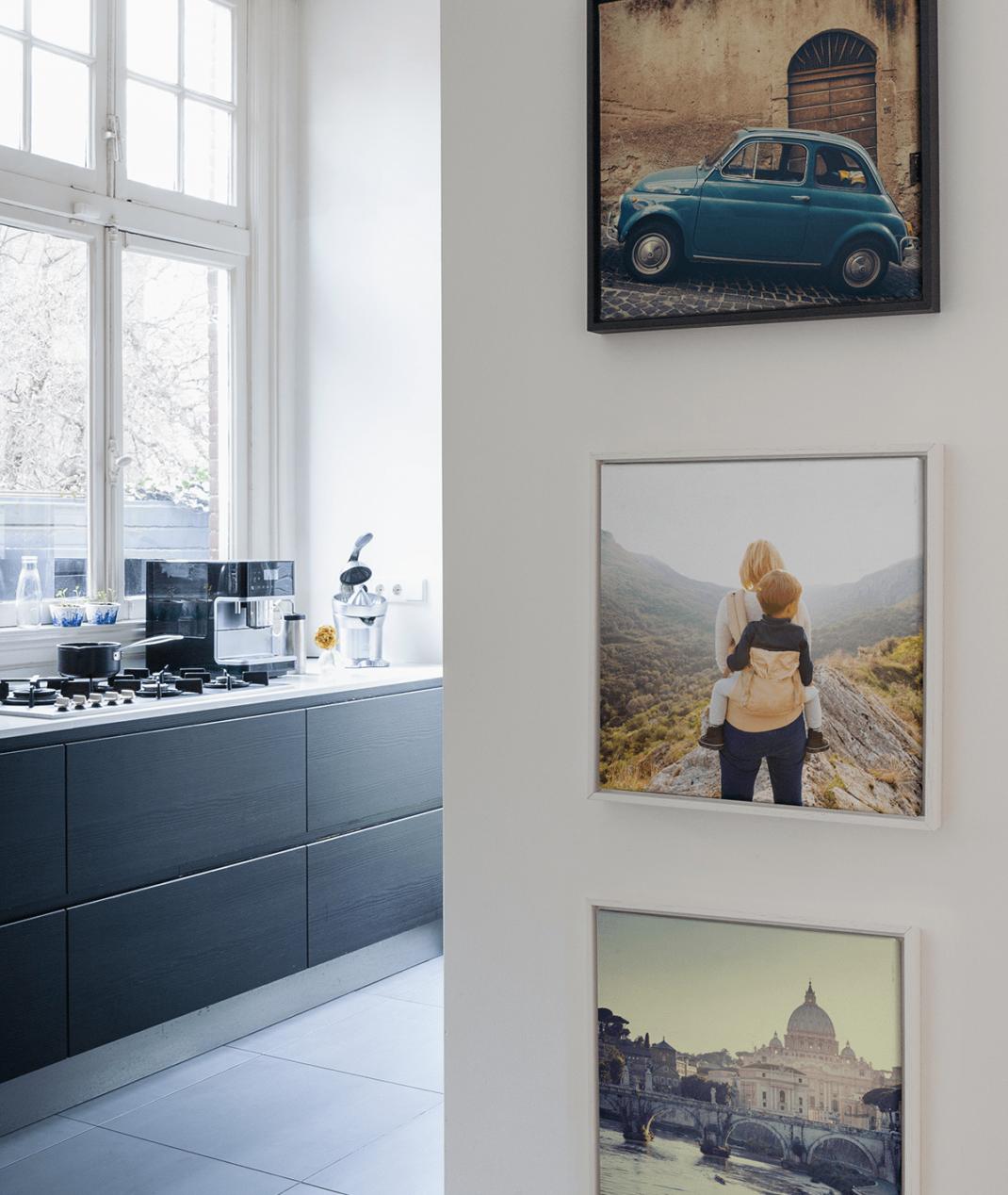comment cr er un mur photo pour r inventer votre espace. Black Bedroom Furniture Sets. Home Design Ideas