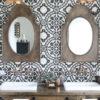 Idées de salle de bain avec des touches dorées