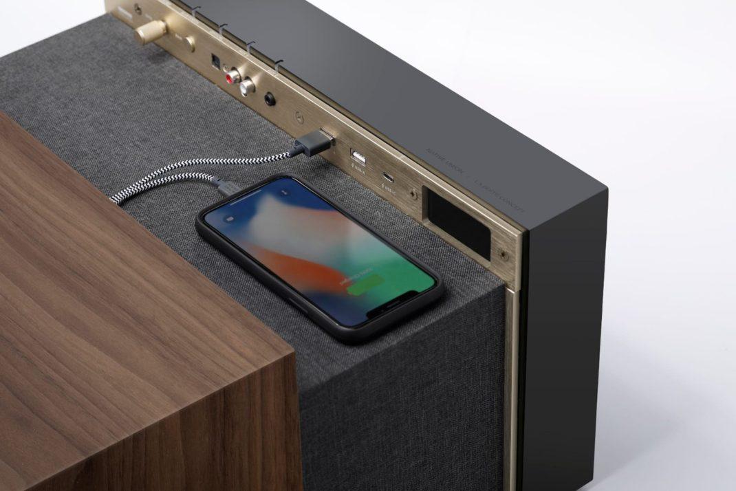 Native Union dévoile une enceinte élégante qui peut cacher vos appareils électroniques