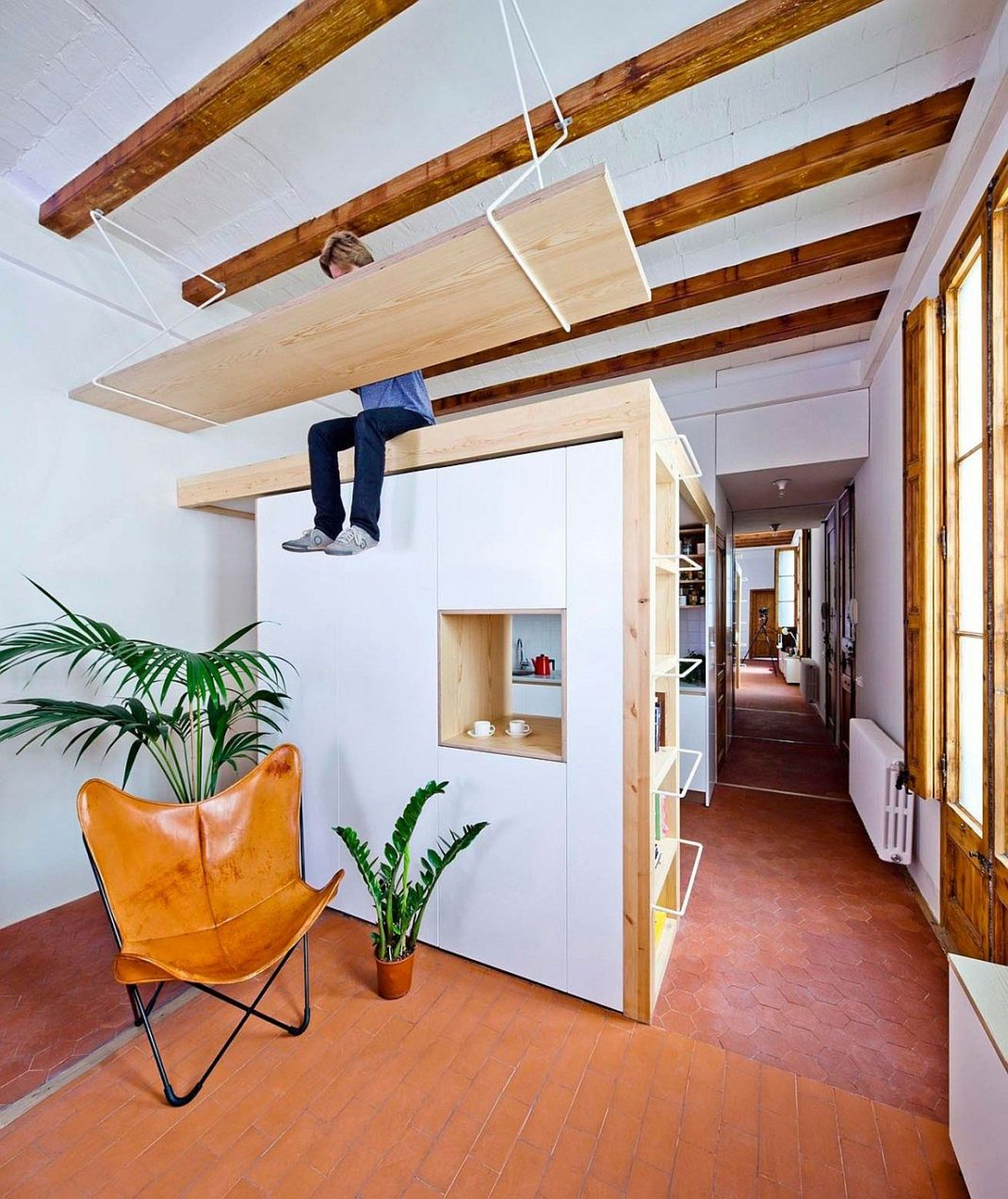 50 id es d co pour gagner de la place dans votre int rieur. Black Bedroom Furniture Sets. Home Design Ideas