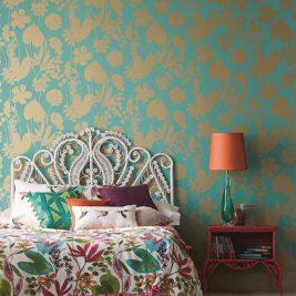 Papier peint tropical 25 manières tendances dajouter de verdure et de la couleur 22 267x267 - Papier peint tropical : 25 manières tendances d'ajouter de verdure et de la couleur