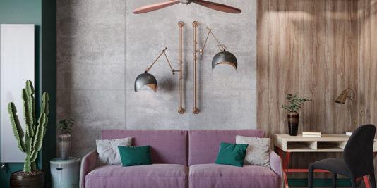 décoration industrielle aux accents marocains