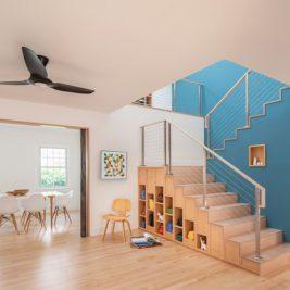 Aménager son escalier pour créer des rangements