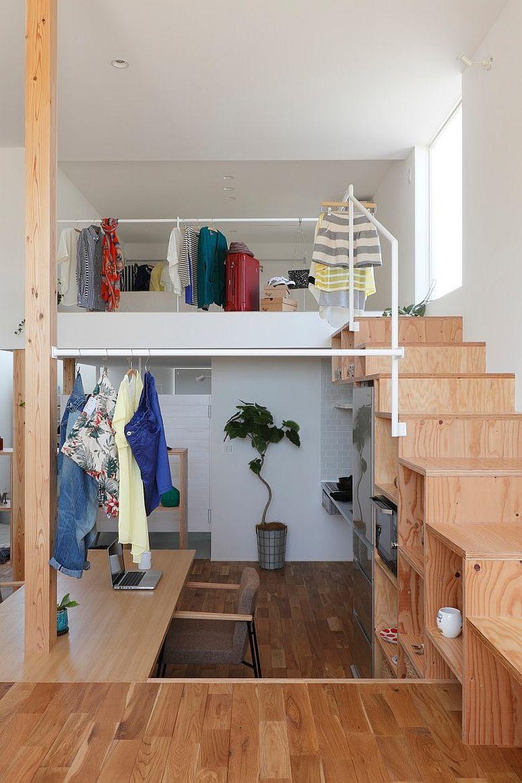 aménager son escalier pour créer des rangements chez soi