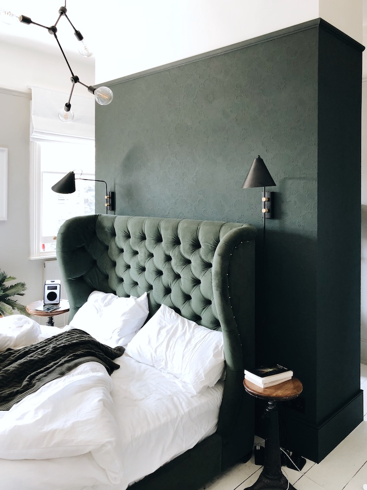 comment r aliser un mur demi peint chez soi deco tendency. Black Bedroom Furniture Sets. Home Design Ideas