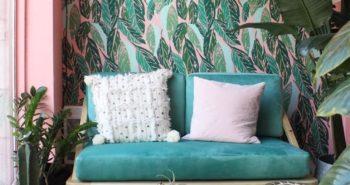Meilleures combinaisons de couleurs Vert menthe et Rose chaud