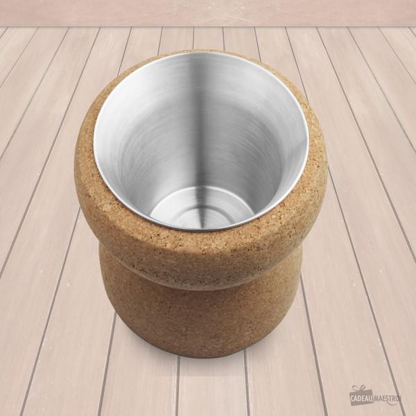 Le seau à glace design Bouchon