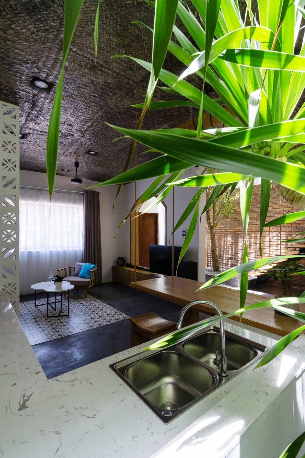Découvrez cette maison tropicale pour prolonger un peu les vacances 7