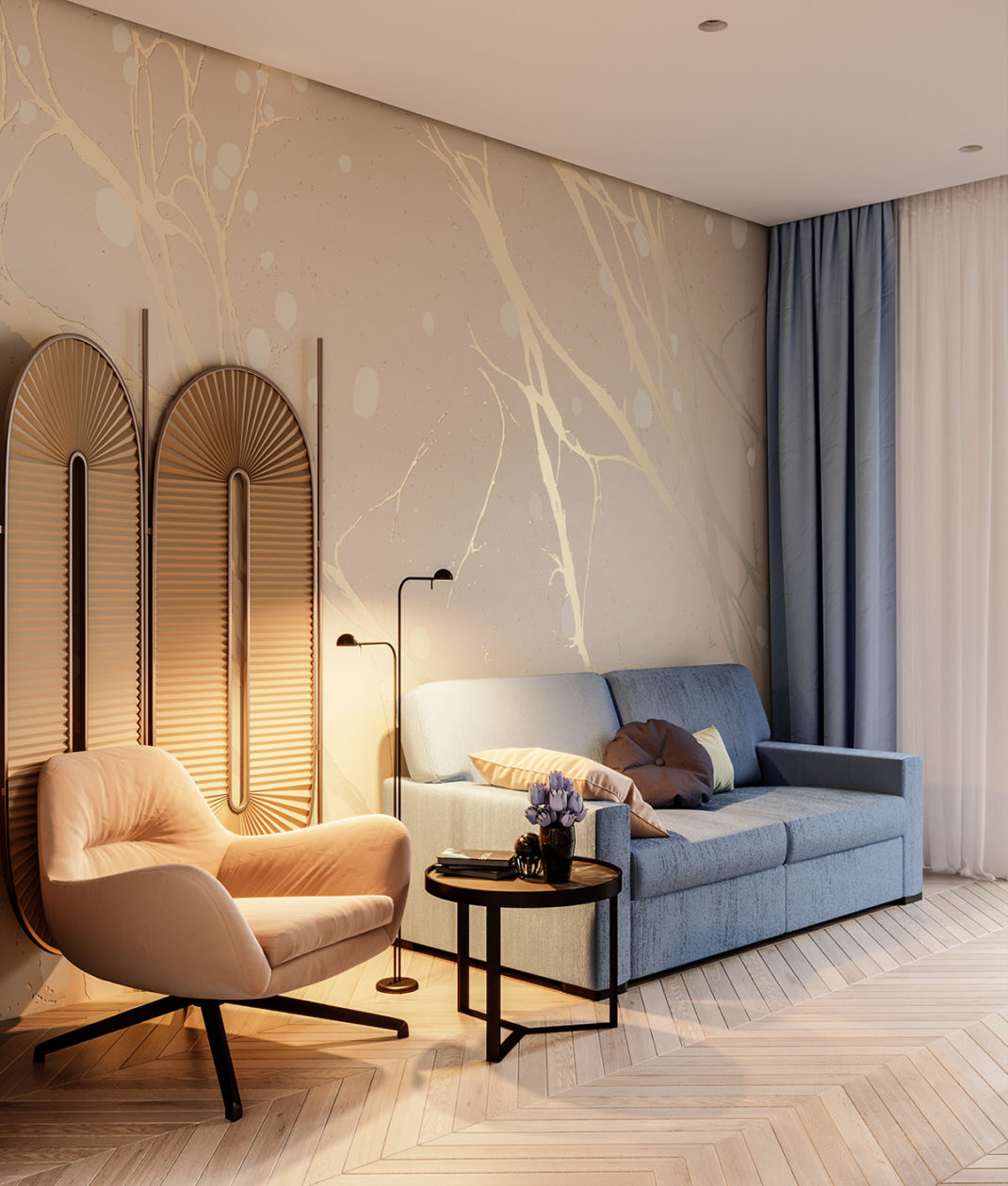 Design Filosofia dévoile un intérieur à la décoration reposante 17