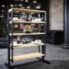Swing – Une étagère qui se transforme en table à manger