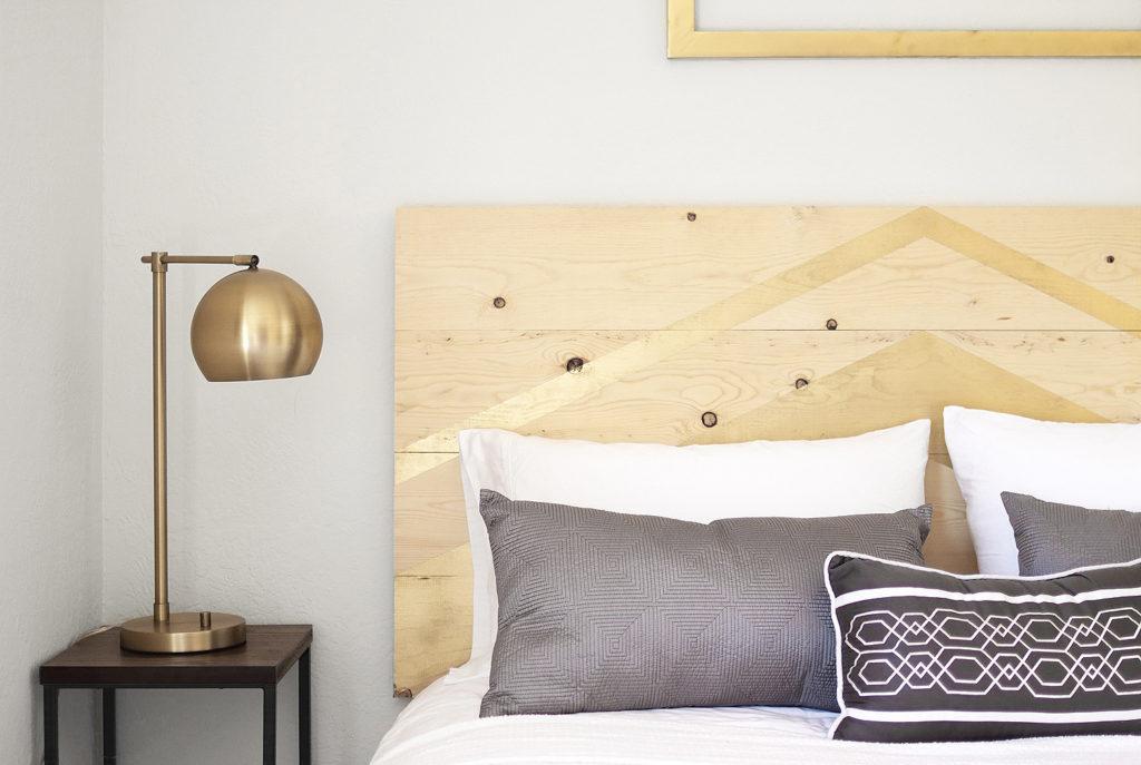 Têtes de lit créatives simple mais efficace