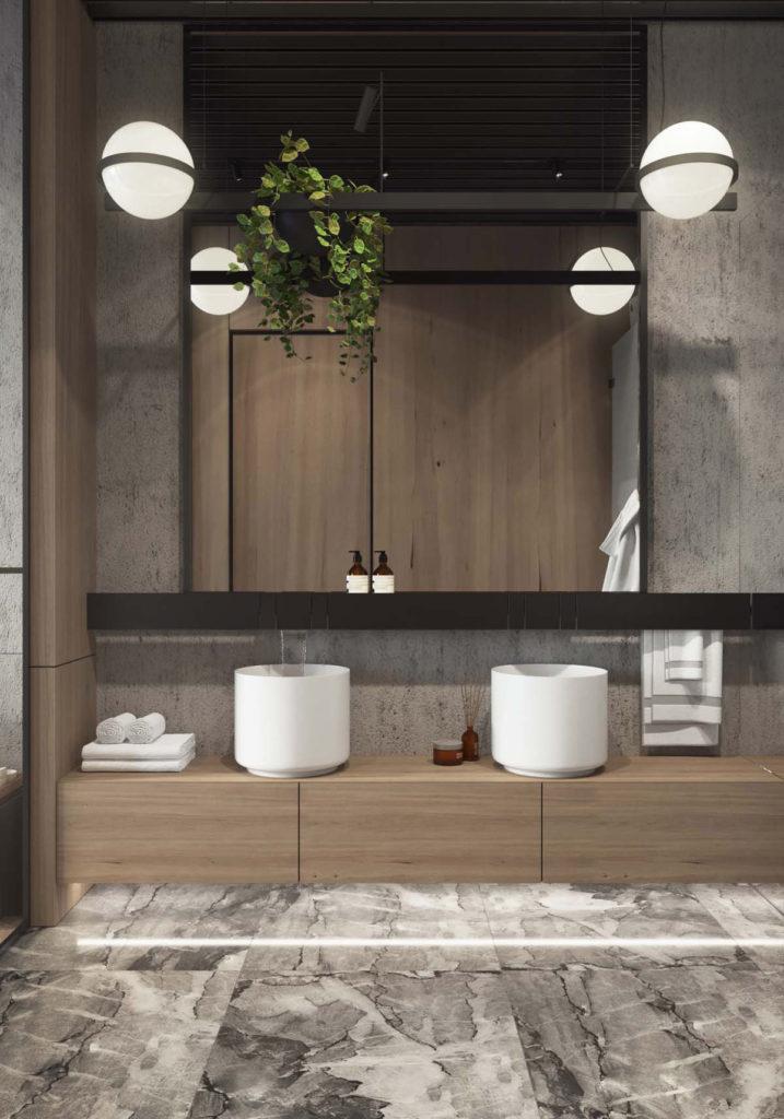 salles de bains de style industriel 14