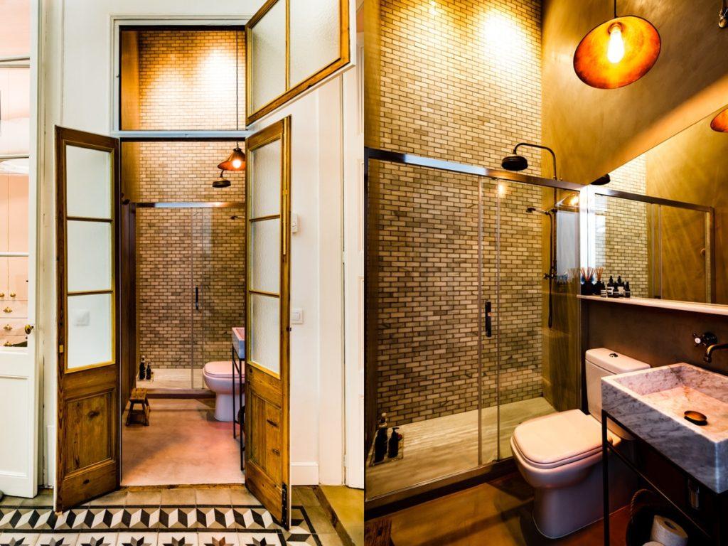 51 salles de bains de style industriel pour trouver de l inspiration - Style de salle de bain ...